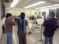 山ノ内町-kocarina-文化協会総会でコカリナ演奏