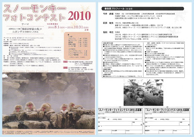 山ノ内町-tourismwork-スノーモンキーフォトコンテスト2010