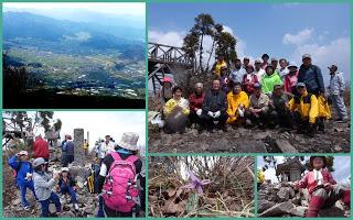 -scenery, event-高社山山頂にぎわった開山祭