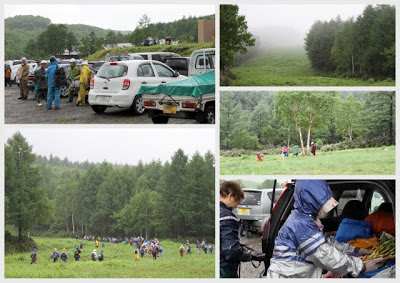 -loco, farm, scenery-志賀高原のタケノコ採り
