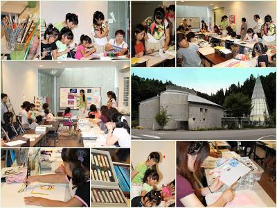 -museum, event-ロマン美術館ワークショップ「心で色を描こう」