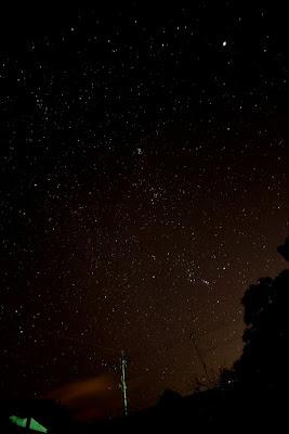 -scenery-冬の星空がきれいに見え始めました