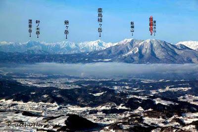 山ノ内町-scenery-高社山からの絶景