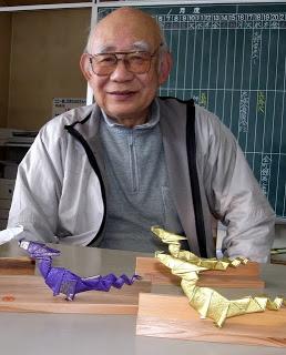 山ノ内町-kominkan-干支の折り紙をいただきました