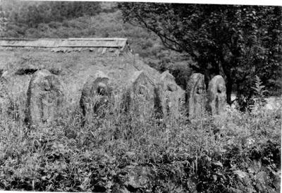 山ノ内町-built-北部「大持坂集落」の古い写真