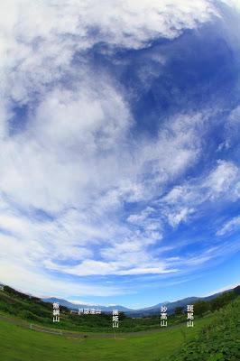山ノ内町-yamanouchi-昨日、今日・・・山ノ内も猛暑・そして満天の星空