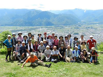 山ノ内町-kominkan-春のトレッキング「大町市鷹狩山」へ楽しく行って来ました。