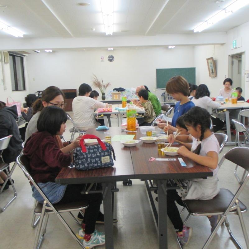 山ノ内町いきいきふれんど-kids-お月見茶会