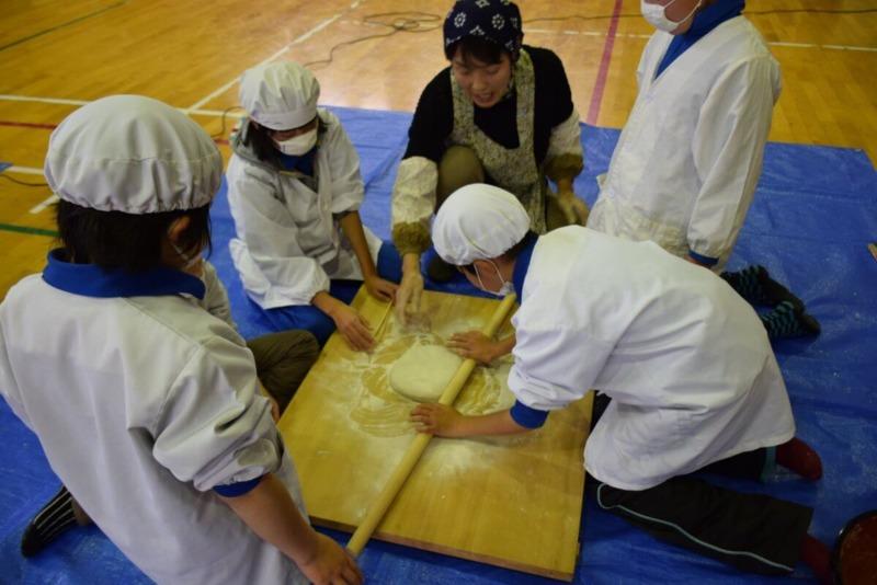 山ノ内町須賀川そば, 南小学校, ユネスコエコパーク, ESD-kids-小学生が地域を学ぶそば打ち体験