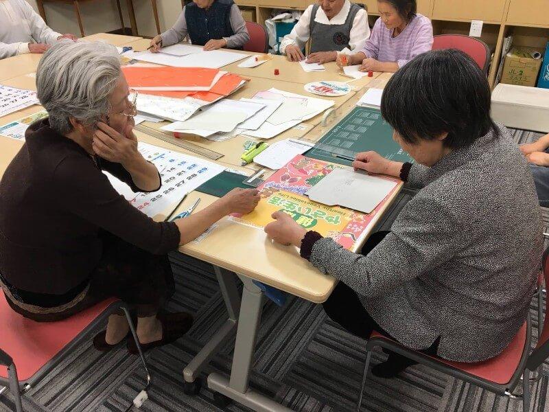 山ノ内町社会福祉協議会-localwork-封筒作りボランティア活動
