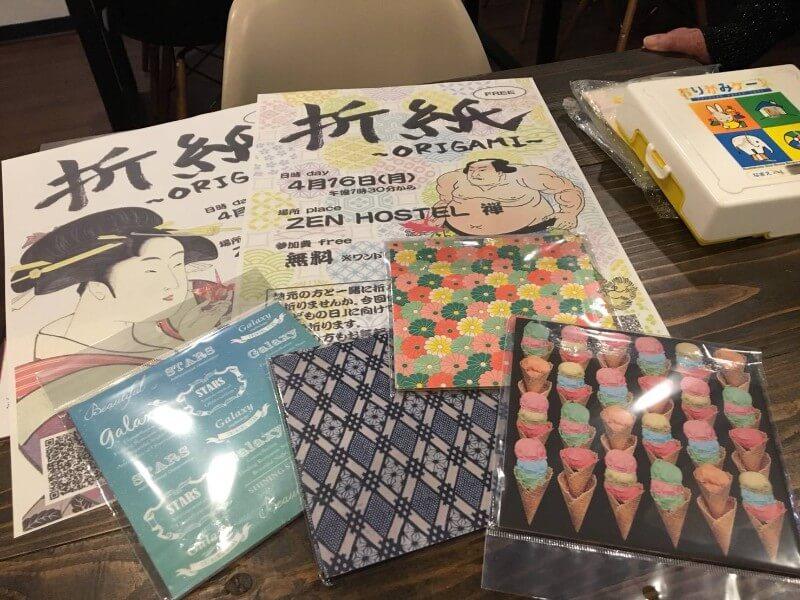 山ノ内町社会福祉協議会-localwork-外国人観光客も参加!折り紙体験