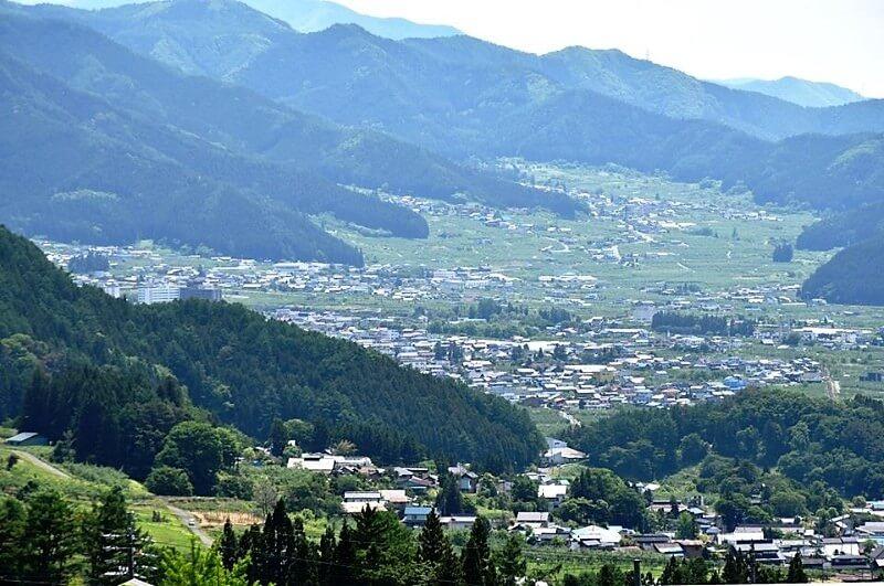 山ノ内町ユネスコエコパーク-yamanouchi-佐野 里の風景