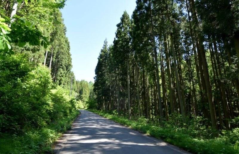 山ノ内町ユネスコエコパーク-yamanouchi-寒沢 里の風景