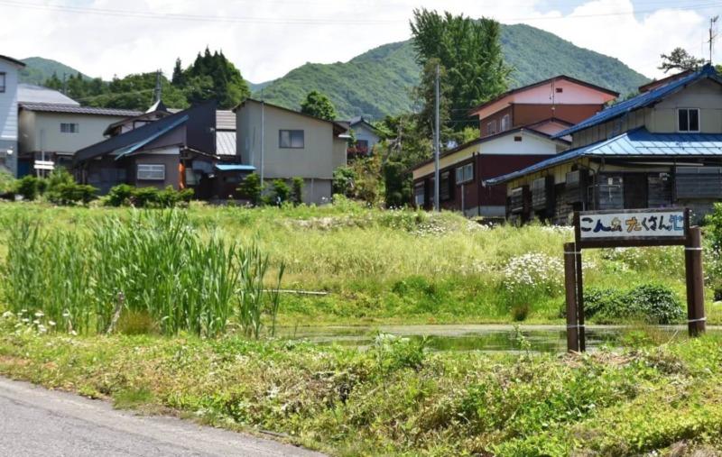 山ノ内町ユネスコエコパーク-yamanouchi-須賀川 里の風景
