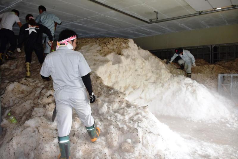 山ノ内町ユネスコエコパーク-tourismwork-須賀川 スノーパル(雪室)