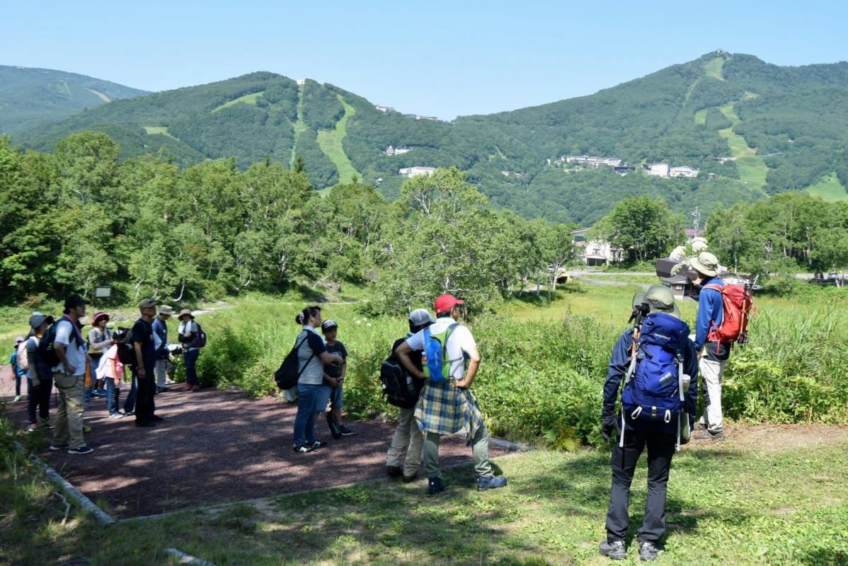 山ノ内町ユネスコエコパーク-kids-大自然満喫ツアーin志賀高原 友好都市の足立区の家族が参加