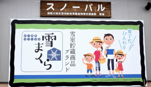 須賀川 スノーパル(雪室)