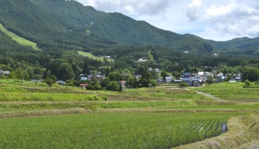須賀川 里の風景