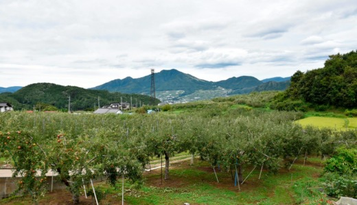 南部地区 菅・寒沢 里の風景