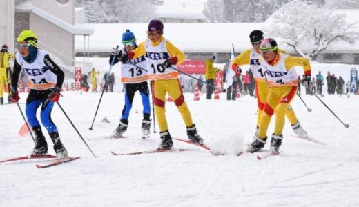山ノ内町四小学校クロスカントリースキー大会開催